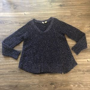 Moth Chunky Zippered Sweater